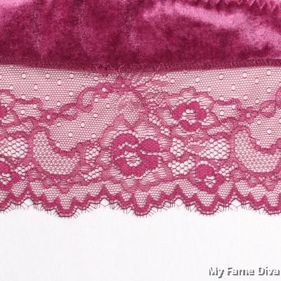 Velvety Cami Crop Top Bralette