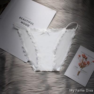 Snowy String Bikini Briefs