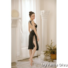 The Satin Collection : VENUS Long Dress Nighty