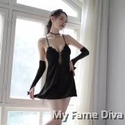 Shimmery DIVA Clubwear Dress