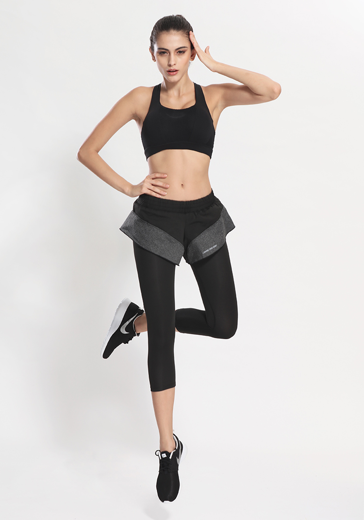 2in1 Shorts in Long Sport Leggings
