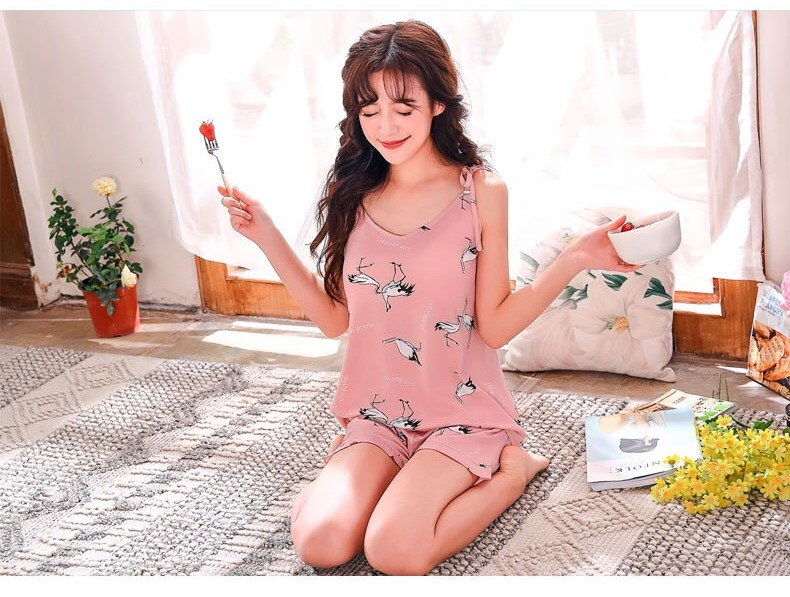PJ Collections : Sweetie in Nature Cami PJ Set